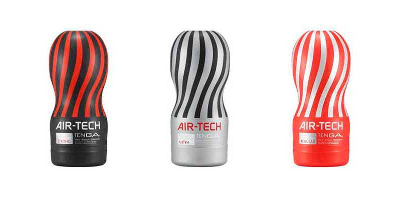 Мастурбаторы Tenga Air-Tech: Strong, Ultra, Regular