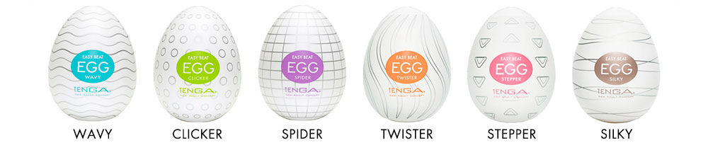 Набор Tenga Egg Easy Beat